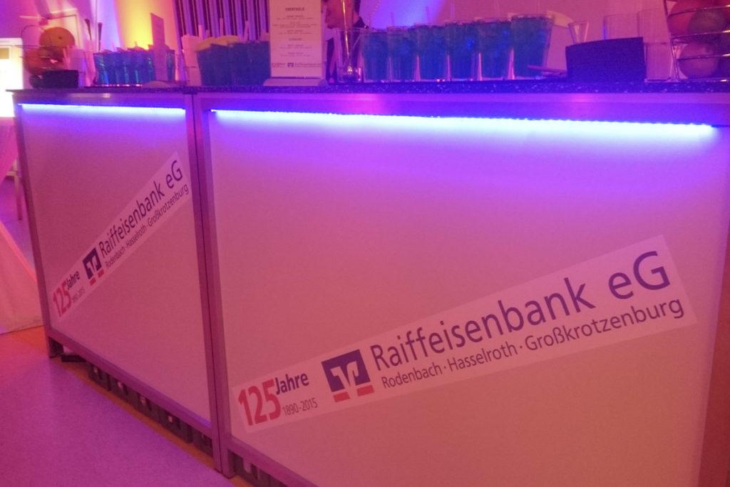 mobile Bar für Firmenveranstaltungen