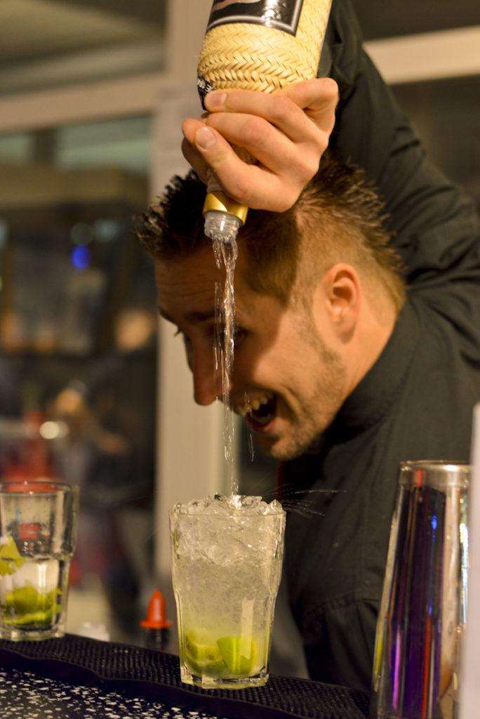 der deutsche Cocktailmeister für Messen und Standparties