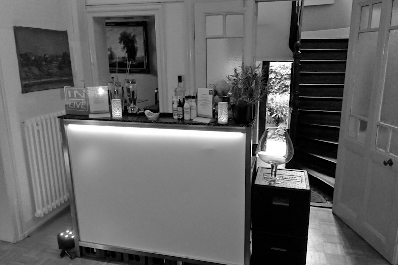 mobile Cocktailbar für Events