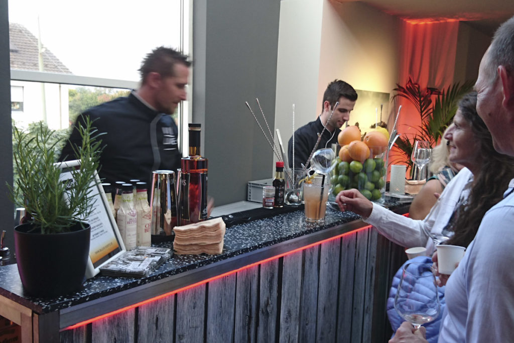 die mobile Cocktailbar für Events