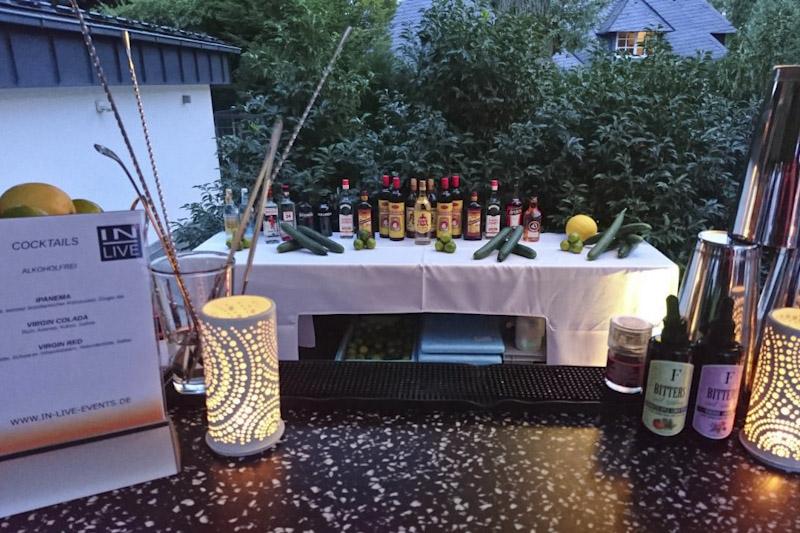 Cocktail-Kreationen für Privatfeiern